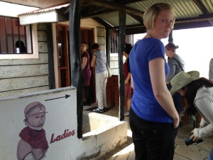 ANOTHER QUEUE FOR ANOTHER LADIES' TOILET